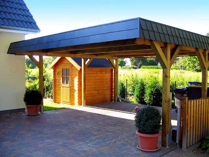 25 b sta carport aus holz id erna p pinterest carport. Black Bedroom Furniture Sets. Home Design Ideas