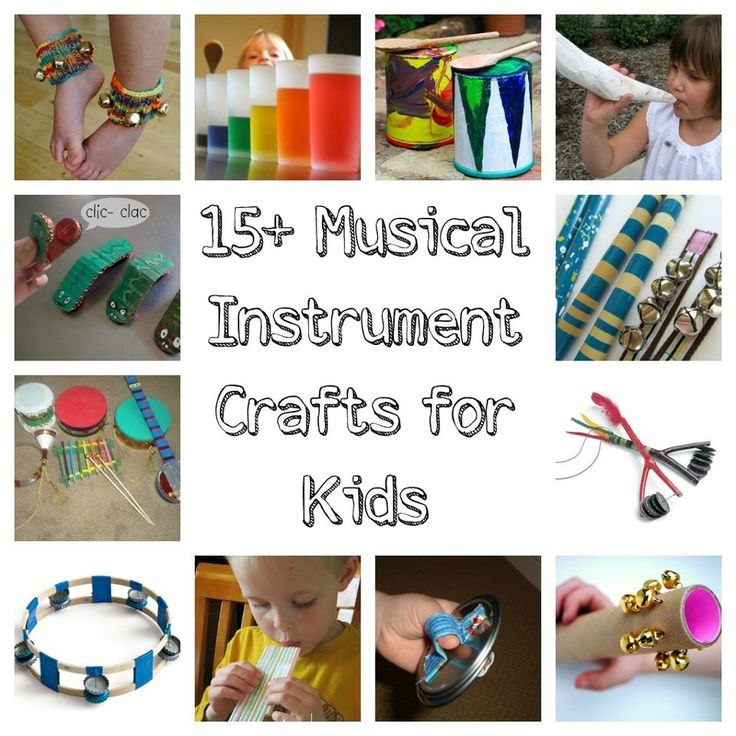 We love making own musical instruments, great fun to explore and experiment. Here are some ideas for you.  http://www.redtedart.com/2012/10/15/musical-instrument-crafts-for-kids/