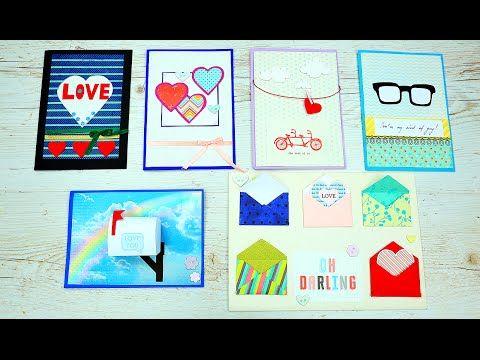 Сегодня мы покажем, как сделать  красивые романтические открытки с сердечками для друзей и близких, которые станут отличным дополнением к подарку! #романтическиеоткрытки #скрапбукинг #подарок