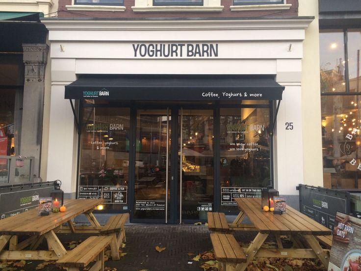 Yoghurt Barn in Den Haag, aanrader voor een goed ontbijt of heerlijke lunch