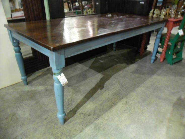 """PC132-1 - $433  82""""W X 38""""D x 31""""H  #nadeaunashville #diningtable #table"""