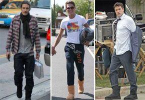 Men Wearing Uggs