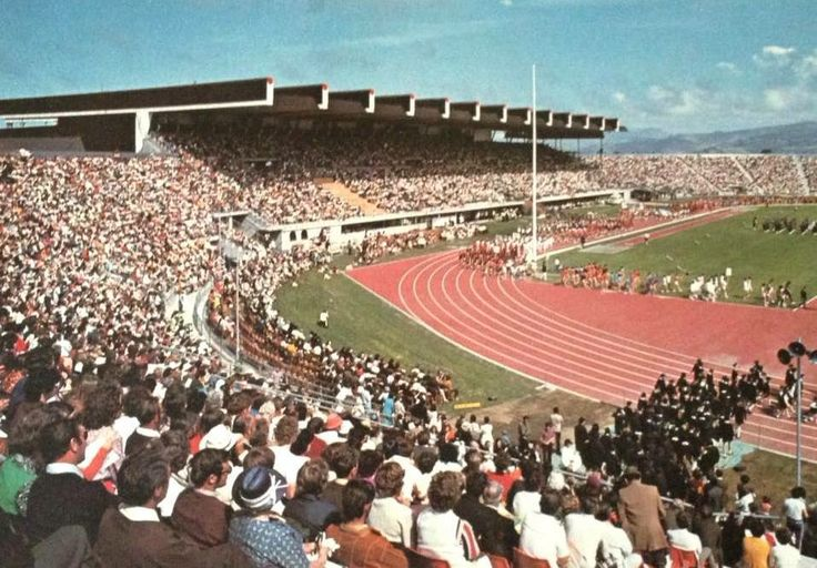 Commonwealth Games Christchurch 1974.