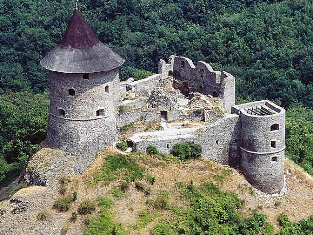 Šomoška Castle. Slovakia.