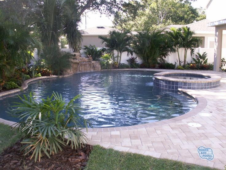 37 best pool shape ideas images on pinterest arquitetura for Pool design tampa florida