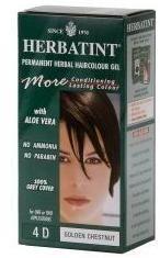 Golden Chestnut 4D Herbatint Hair Color by Herbatint (4.5floz Hair Color)