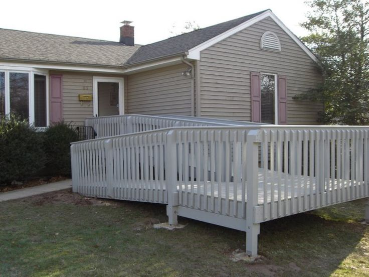 17 best images about build a wheelchair ramp on pinterest for Ada home