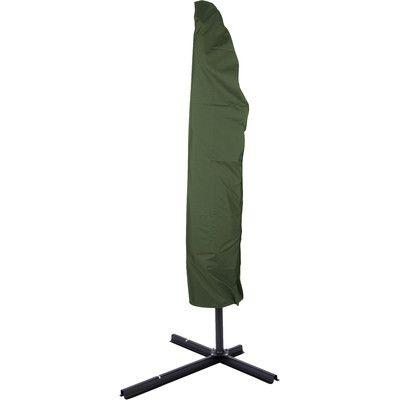 Trademark Innovations Offset Umbrella Cover Color: Dark Green