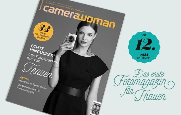 Wir machen das erste Fotomagazin speziell für Frauen!! Zeit wird's, oder?  Es wird cameraWoman heißen. Um es ins Rollen zu bringen, haben wir auf www.startnext.com/camerawoman eine Crowdfunktion-Aktion gestartet und brauchen zunächst 50 Fans.  Unterstützt uns und werdet Fan von cameraWoman - das kostet euch nullkommanix, hilft uns jedoch ungemein, dieses längst überfällige Projekt zu realisieren.  Über eine große Portion Mund- und Netzpropaganda sind wir nat�