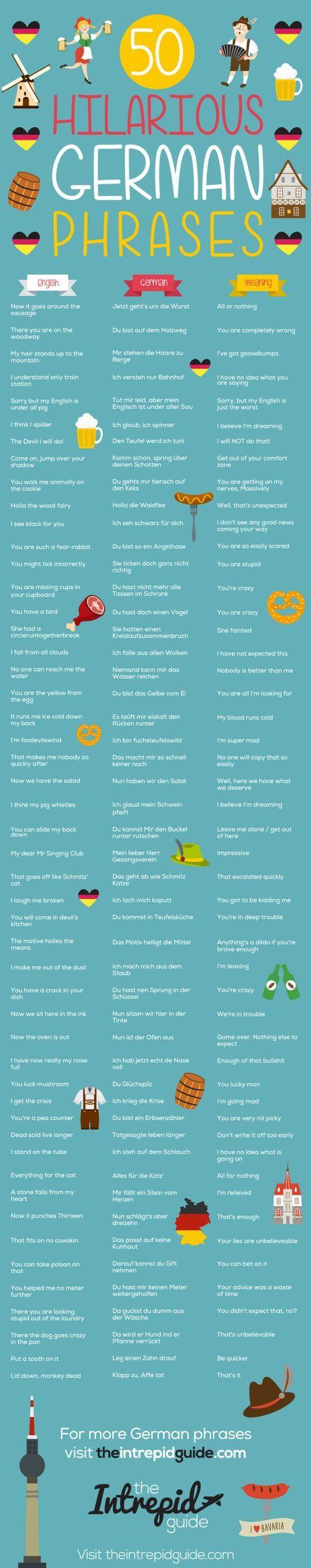 50 Amusing German Phrases That Will Brighten Your Day