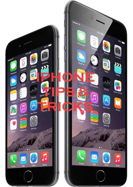 The top tips and tricks for iPhone 6, iPhone 6 Plus, iPhone 5s, iPhone 5c, iPhone 4s or iPhone 4 that you must know.