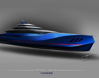 """OFFICINA ARMARE VINCERO MOTORYACHT"" http://be.net/gallery/51618807/OFFICINA-ARMARE-VINCERO-MOTORYACHT"