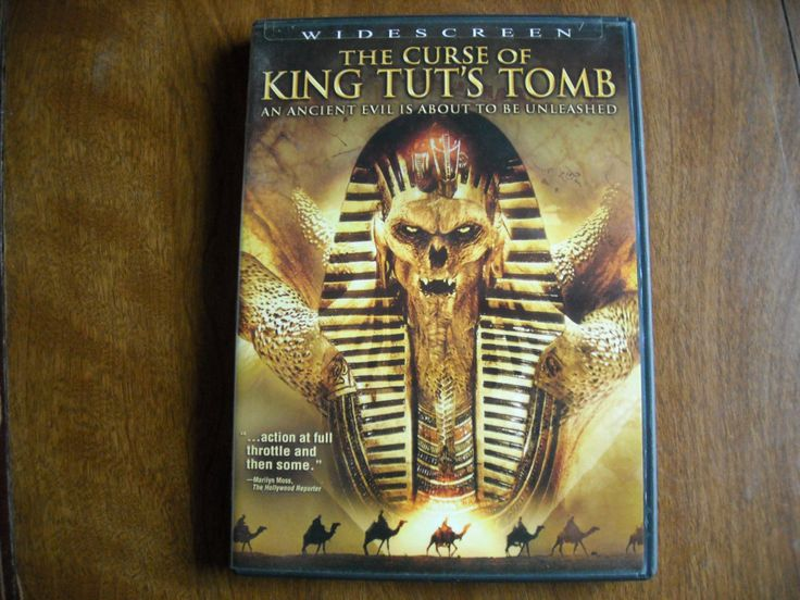 The Curse of King Tut's Tomb (DVD, 2006) - for sale at Wenzel Thrifty Nickel ecrater store