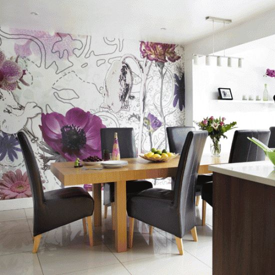 21 best wallpaper ideas images on pinterest | dining room