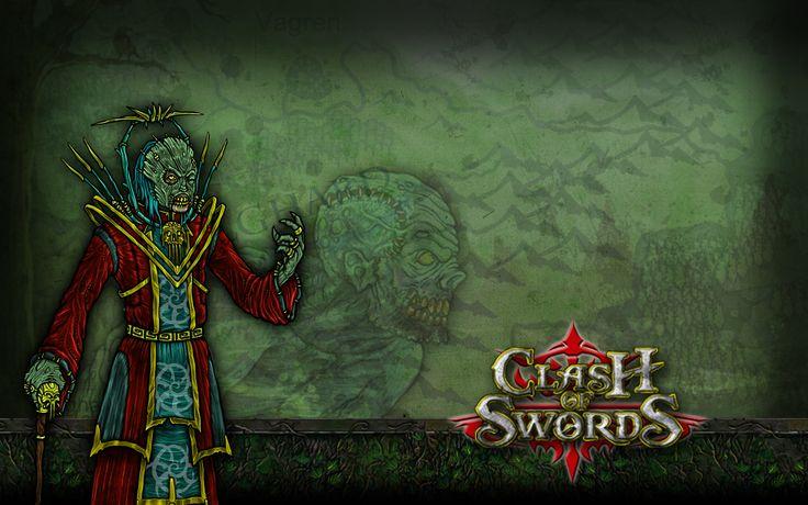 Wallpaper Clash of Swords