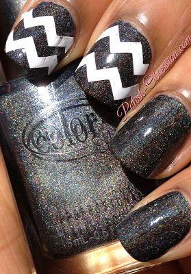 Chevron accents #nails
