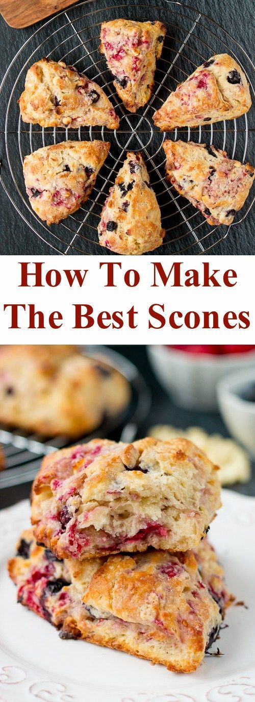 Learn how to make the best scones of your life! These scones are crunchy on the outside, moist and buttery on the inside. Plus you can easily adapt this recipe with your favorite add-ins. #sconerecipe #butteryscones #flakyscones #savoryscones #sweetscones #easysconerecipe