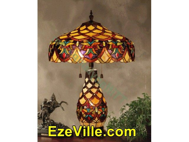 Awesome  Tiffany Lamps With Tulip Shades