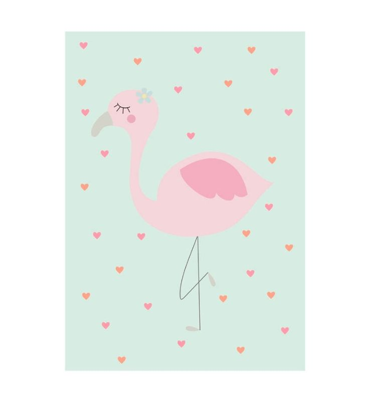 Our new print-baby flamingo! If you like this cutie please check our Etsy shop! #twowallnuts #etsy #etsytwowallnuts #birds #flamingo #mint #summer #pink #hearts #summerprint #baby #dancing #ballerina #blue #princess #childrenswallart #illustration #childrensroomprint #kidsroom #kidsprint #childrensart #homedecor #decor #art #arts #drawing #childrenillustration #illustrator #childrenillustrator #illustrators