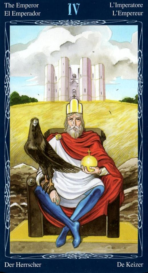 The Emperor - Tarot of the Mystic Spiral