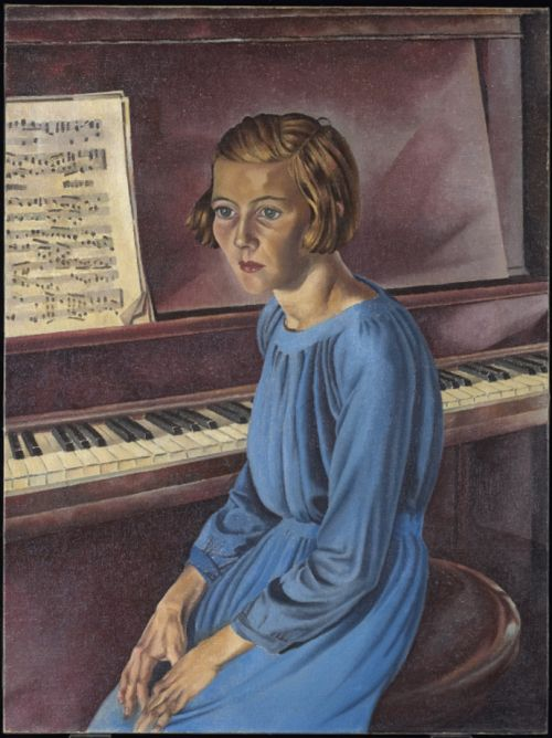 Phyllis (Piano! Piano!), 1934 Bertram Brooker (Canadian) Oil on canvas