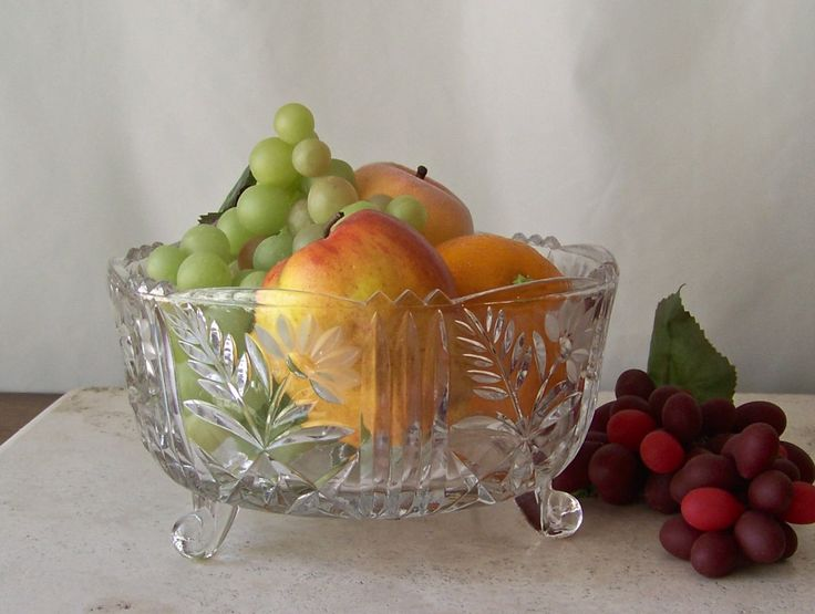 25 Best Glass Fruit Bowl Ideas On Pinterest Carnival