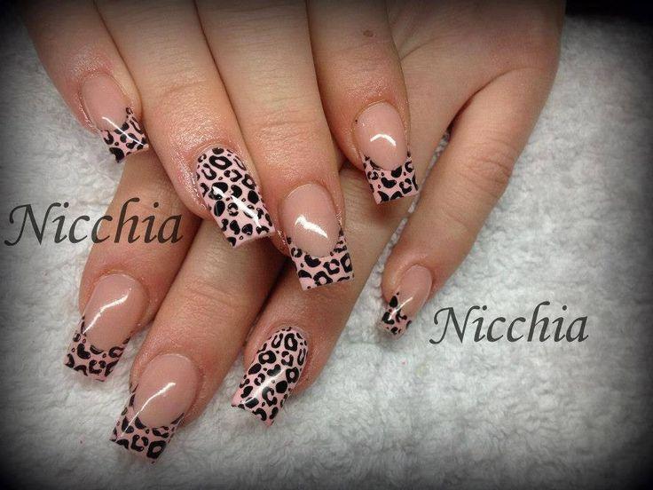 unghie leopardate