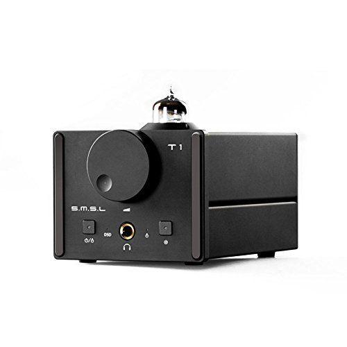 SMSL T1 HiFi Audio DAC USB Optical Coaxial Decoder DSD512 384kHz with Tube Headphone Amplifier   Tube Amplifier Reviews
