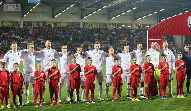 Kvalifikácia ME 2016 - Slovensko - Luxembursko