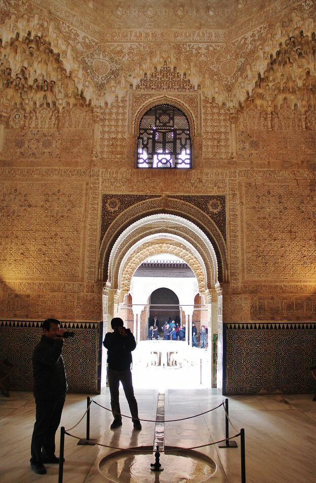 Sala de los abencerrajes en el palacio de los leones de la for Sala 0 palacio de la prensa