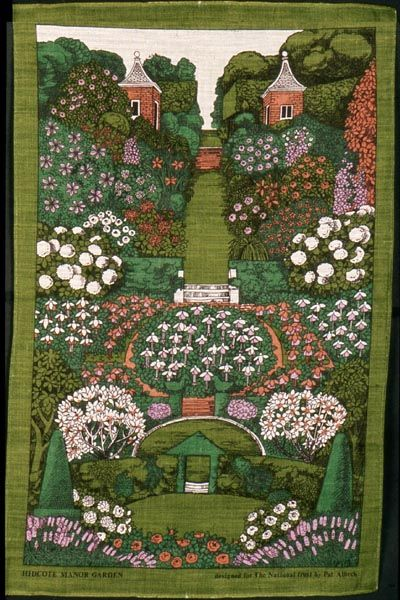 'Hidcote Manor Garden' by Pat Albeck for the National Trust, c.1970s