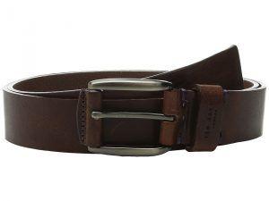 Ted Baker Jeebelt Textured Leather Jean Belt (Tan Jean) Men's Belts