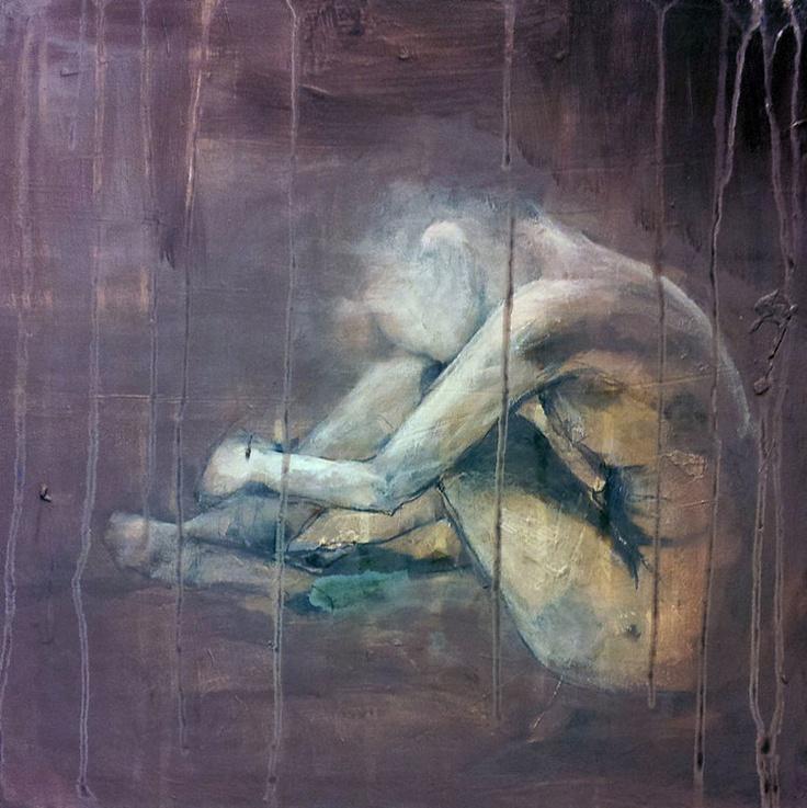 LITEN PUDDERROSA BY ANNE-BRITT KRISTIANSEN  #fineart #art #painting #kunst #maleri #bilde  https://annebrittkristiansen.com/paintings/2013/