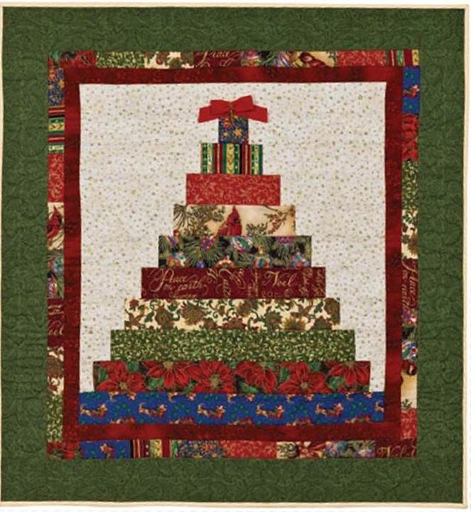 163 best Ho-Ho-Ho, It's Christmas! images on Pinterest : christmas quilt wall hanging - Adamdwight.com