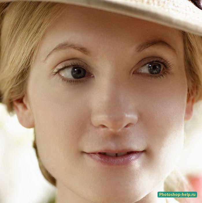 Как сделать лицо идеальным в Фотошоп. Подробный урок