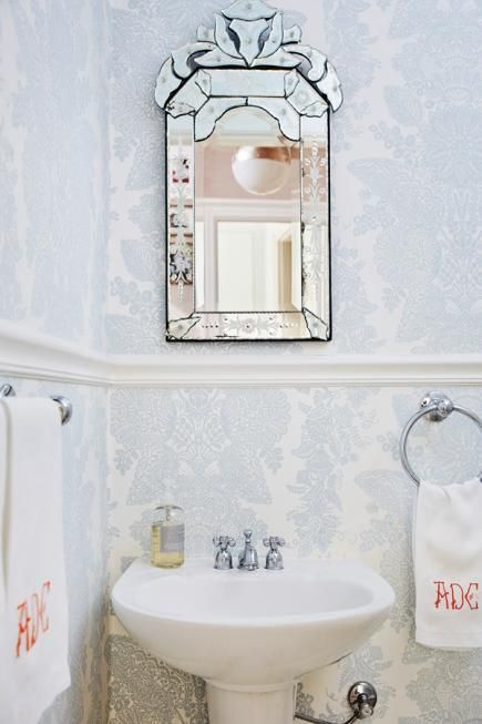 Best Bathrooms Images On Pinterest Bathroom Ideas Room And Home - Monogrammed hand towels for small bathroom ideas