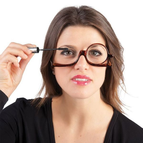 Rotating Makeup Glasses Magnifying Glasses Cosmetic Folding Eyeglasses Tools Kit Bazacenters Com Glasses Makeup Reading Glasses Eye Makeup Cosmetics