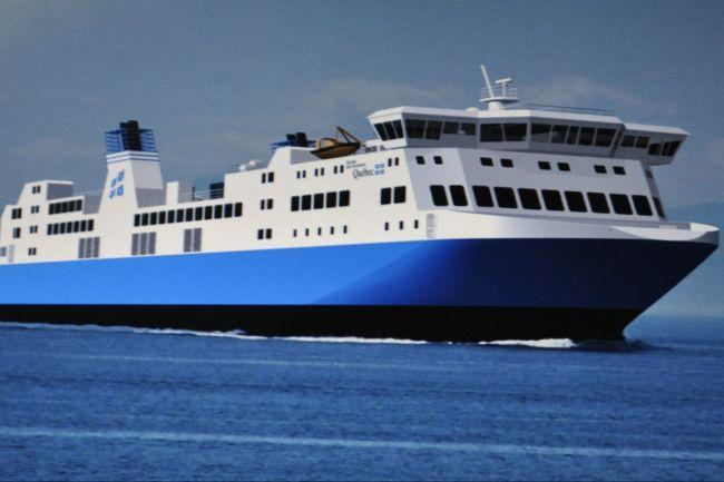 Le F.-A.-Gauthier : Nom du futur navire de la STQ -Traverse Matane-Baie-Comeau-Godbout en l'honneur de M. Félix-Adrien Gauthier. Livré en avril 2015