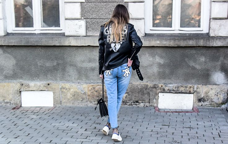 jeans, boyfriend, fishnet, leather, style, street style, street fashion, ootd, look, style, inspiration, bloger, fashionist, stylist,