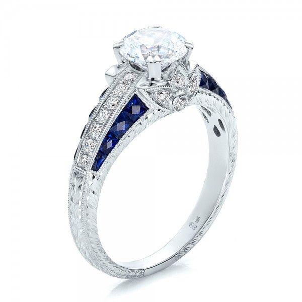 25 Anello Di Fidanzamento CT Rotonda Diamante | Diamond Engagement Ring