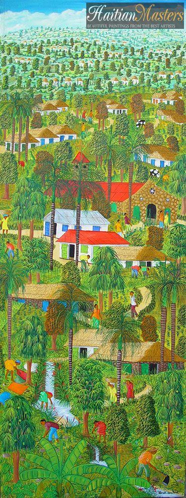 Abner Dubić - Mestres do Haiti, pinturas haitianas, Pintura Haiti, Haiti arte, arte haitiana!