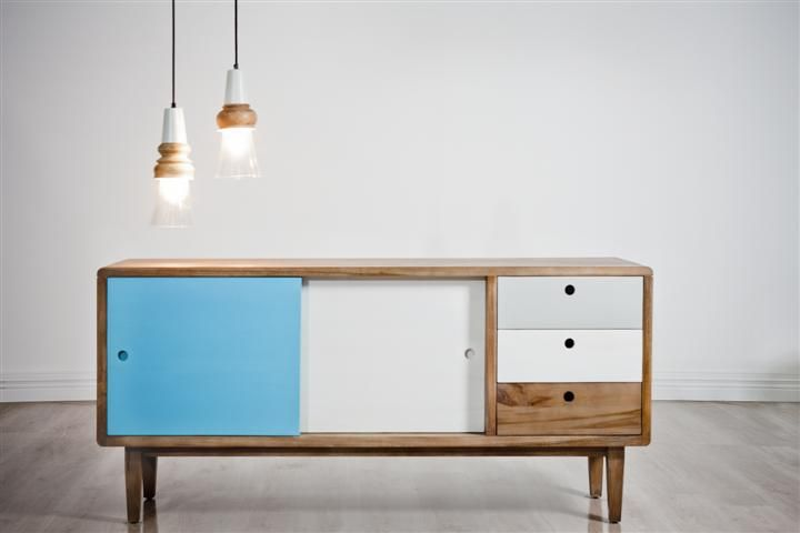 Oslo Timber Buffet | Dining Furniture Oakleigh Clayton Chadstone Springvale| Dining Furniture Stores Melbourne | Modern Scandinavian Style Timber Sideboard