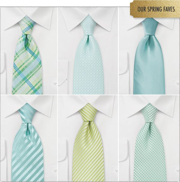 Bows-n-ties.com  specializes in neckties, bow ties, and pocket squares in 244 colors.