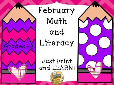 3886 best Valentines Day Math Ideas images on Pinterest