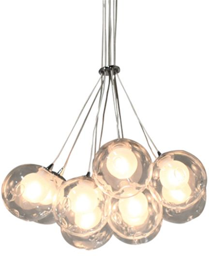 Malmo Cluster Pendant, Pendants, Leading designers, Contemporary lighting, Holloways of Ludlow