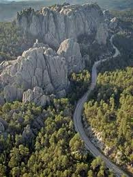 Needles Hwy, SD... on the motorcycle