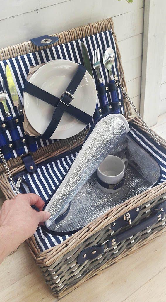 Lo mejor del verano: picnic! y con esta estilosa y nostágica maleta para dos podrás armar el mas entretenido panorama este fin de semana!