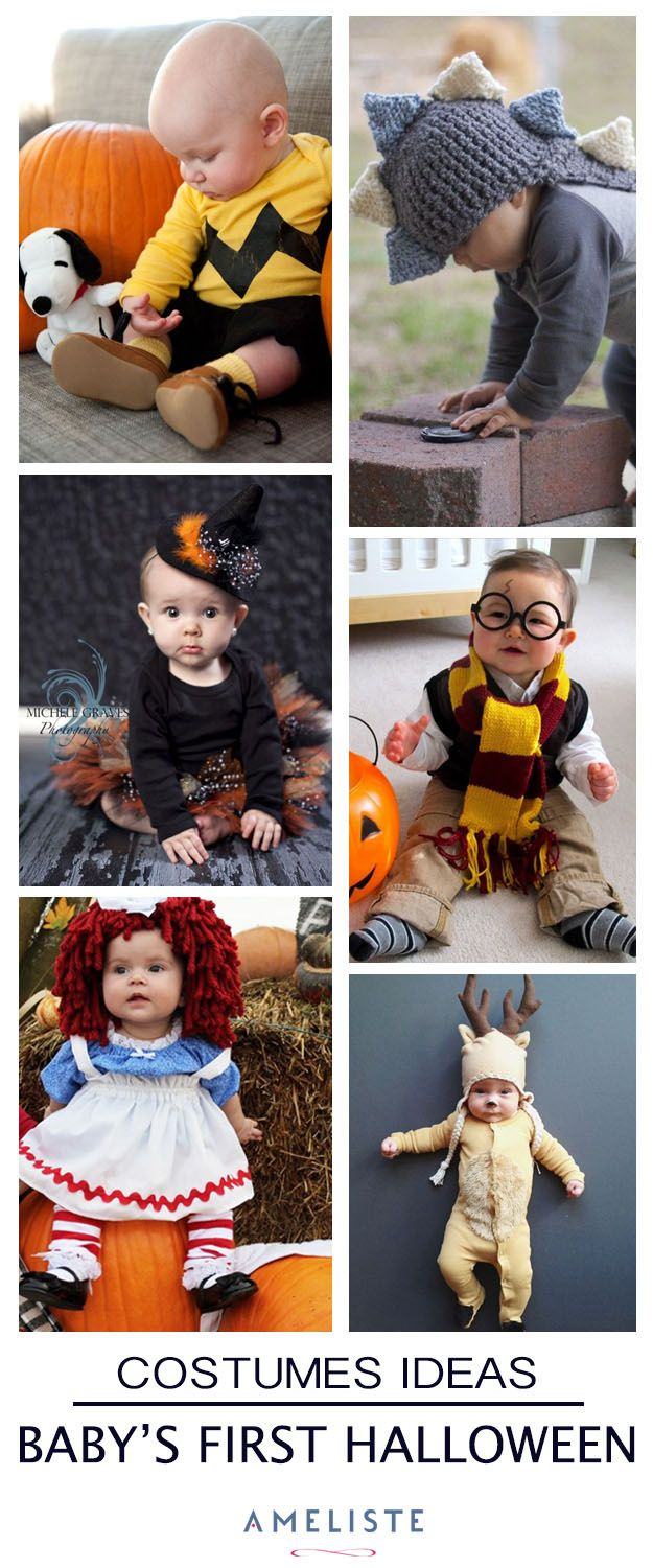 Inspiration Board // Baby's first Halloween #baby #halloween