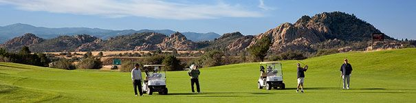 Antelope Hills Golf Course - Prescott, AZ. Visit http://ezlinks.com/arizona for discount tee times in northern Arizona.