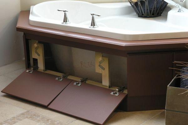 How To Choose A Bathtub In 2020 Corner Jacuzzi Tub Bath Panel Ideas Diy Bath Panel